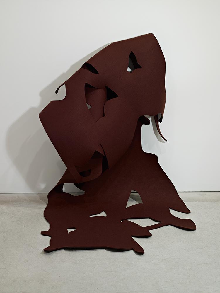 Felt #4, 2008, Wool felt, 284 x 117 cm
