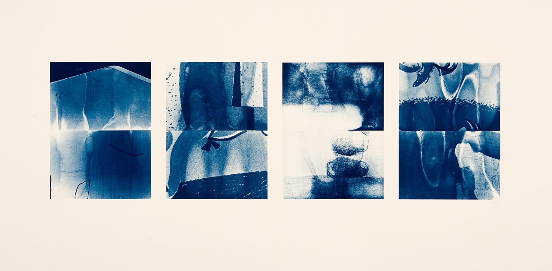 Front, 2008, Cyanotype