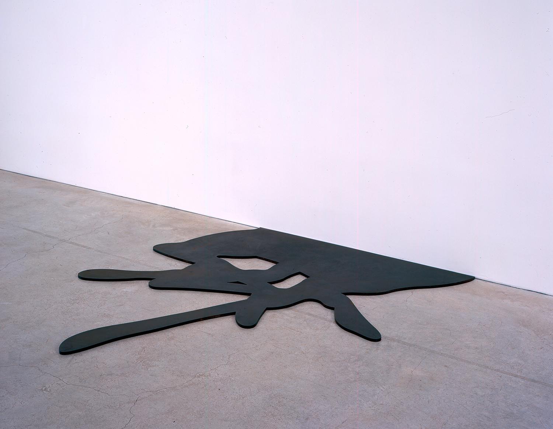 Plot, 2006, Steel, 1,4 x 170 x 189 cm