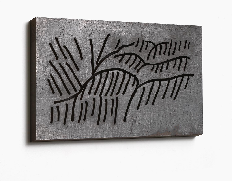 Brinco, 2007, Steel, 28 x 17 x 1,5 cm