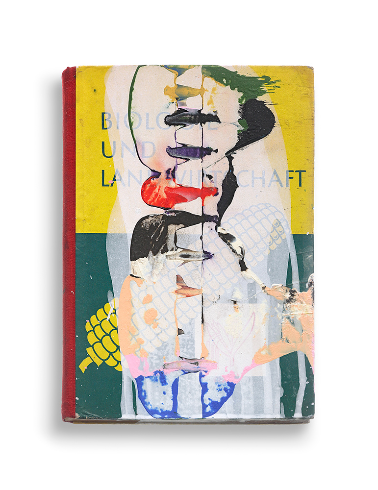 Untitled, 2015, Mixed media on book, 23,5 x 16,5 cm