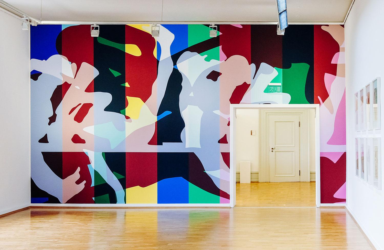 Wallpainting at Städtische Galerie Wolfsburg