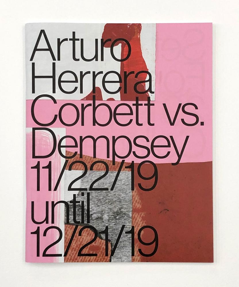 Arturo Herrera, Corbett vs. Dempsey, Chicago, IL, 2019